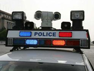 Industrial Security Camera System for Police Vehicles Patrolling